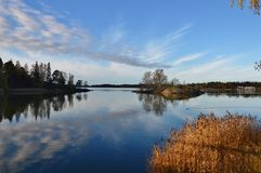De herfstmeer Royalty-vrije Stock Afbeeldingen