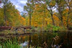 De herfstmeer Royalty-vrije Stock Foto's