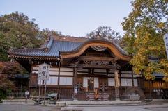 De herfstmening in Japan royalty-vrije stock afbeelding