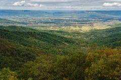 De herfstmening van Shenandoah-Vallei royalty-vrije stock afbeelding