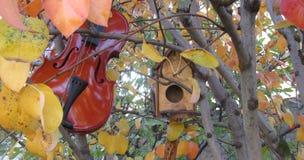 De herfstmuziek royalty-vrije stock afbeeldingen