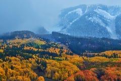 De herfstonweren Stock Fotografie