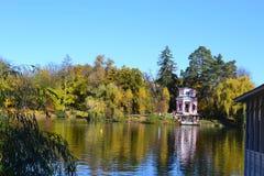 De herfstpark Stock Afbeelding