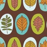De herfstpatroon royalty-vrije illustratie