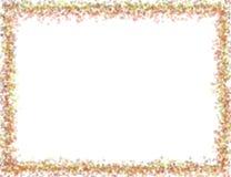 De herfsttekening van kaderprentbriefkaaren Royalty-vrije Stock Afbeelding