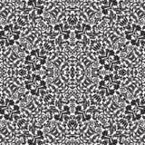 De herhaalbare Naadloze Achtergrond van het Patroon van het damast vector illustratie
