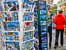De herinneringswinkel 1 van Chamonix Royalty-vrije Stock Afbeeldingen