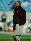 De Herm ancien New York Jets premier entraîneur d'Edwards Image libre de droits