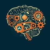 De hersenen Stock Afbeelding