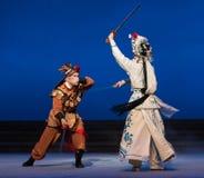 """De herten de emmer-vijfde handeling stelen onsterfelijk-Kunqu Opera""""Madame Witte Snake† stock foto's"""