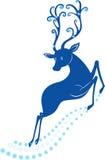 De herten van Kerstmis Royalty-vrije Stock Afbeeldingen