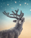 De herten van Kerstmis Stock Afbeeldingen