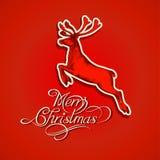 De herten van Kerstmis Royalty-vrije Stock Foto's