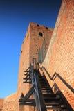 De hertogenkasteel van Mazovian in Czersk, Mazovia, Polen Royalty-vrije Stock Afbeelding