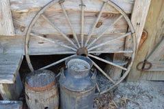 De het authentieke van de de Crackerwagen van Florida Wiel en Vaten Stock Fotografie