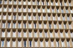 De het bureaubouw van de venstervoorgevel Royalty-vrije Stock Afbeeldingen