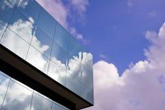 De het bureaubouw van het glas Stock Fotografie