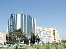 De het bureaubouw van Tashkent dichtbij het Ave 2007 van Oezbekistan Stock Afbeelding