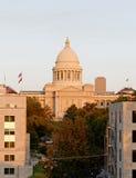 De het Capitoolbouw van de Staat van Arkansas Stock Foto's