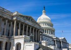 De het Capitoolbouw van de V.S. in Washington, gelijkstroom stock foto