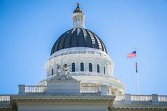De het Capitoolbouw van Sacramento in Californië Stock Afbeelding