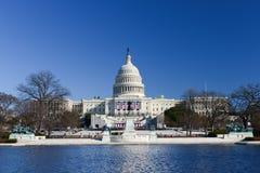 De het Capitoolbouw van Verenigde Staten in Washington DC Stock Afbeeldingen