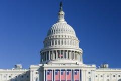 De het Capitoolbouw van Verenigde Staten in Washington DC Stock Fotografie