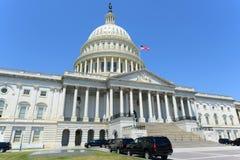 De het Capitoolbouw van Verenigde Staten in Washington DC, de V.S. Stock Foto