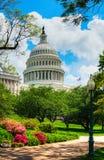 De het Capitoolbouw van Verenigde Staten in Washington, gelijkstroom stock fotografie