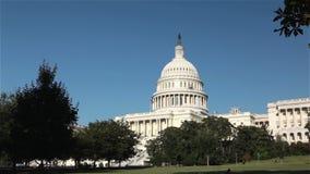 De het Capitoolbouw van Verenigde Staten, Washington, gelijkstroom stock video
