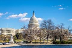 De het Capitoolbouw van Verenigde Staten - Washington, gelijkstroom, de V.S. royalty-vrije stock foto