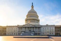 De het Capitoolbouw van Verenigde Staten - Washington, gelijkstroom, de V.S. royalty-vrije stock afbeeldingen