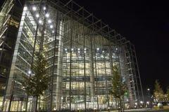 De het glasbouw van de nacht Stock Afbeelding