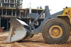 De het grondverzetwerken van de bouw Stock Afbeelding