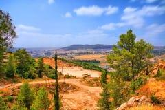 De het Holreis van Soreq Avshalom in Israël Royalty-vrije Stock Foto
