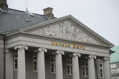 DE HET HOOFDKANTOORbouw VAN DANSKE BANK Royalty-vrije Stock Fotografie