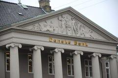DE HET HOOFDKANTOORbouw VAN DANSKE BANK Stock Fotografie