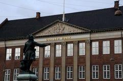 DE HET HOOFDKANTOORbouw VAN DANSKE BANK Royalty-vrije Stock Foto's