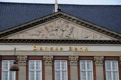 DE HET HOOFDKANTOORbouw VAN DANSKE BANK Royalty-vrije Stock Afbeelding
