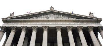 De het Hooggerechtshofbouw van de Staat van New York Stock Foto