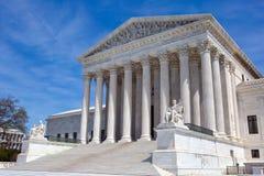 De het Hooggerechtshofbouw van de V.S. stock afbeeldingen