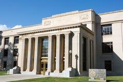 De het Hooggerechtshofbouw van Wyoming stock afbeelding