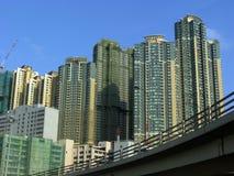 De het huisbouw van Hong Kong Royalty-vrije Stock Fotografie