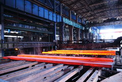 De het ijzerwerken van de staalfabricage Royalty-vrije Stock Fotografie