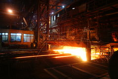 De het ijzerwerken van de staalfabricage Royalty-vrije Stock Foto's