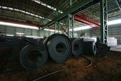 De het ijzerwerken van de staalfabricage Royalty-vrije Stock Afbeeldingen