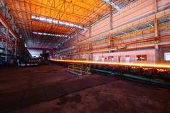 De het ijzerwerken van de staalfabricage Stock Fotografie