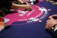 De het klassieke wiel en spaanders van de casinoroulette Royalty-vrije Stock Foto