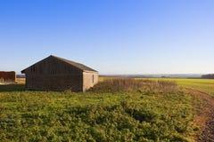 De het landbouwbedrijfbouw van Yorkshire wolds Royalty-vrije Stock Afbeelding
