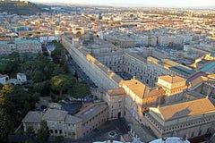 De het museumbouw van Vatikaan royalty-vrije stock afbeeldingen